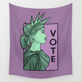 Vote Wall Tapestry