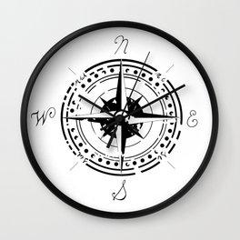 Wind of Rose Wall Clock
