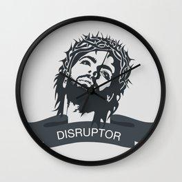 Jesus Disrupts Wall Clock