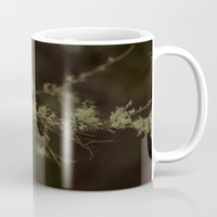 hot fuzz Mugs featuring Tree Fuzz by Dana E