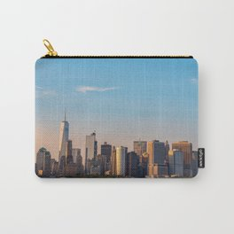 Manhattan Sunset from Governors Island Carry-All Pouch
