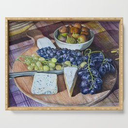 Fuit and Cheese Serving Tray