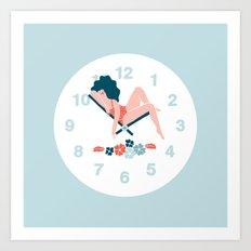 Watch Art Print