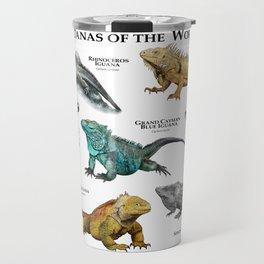 Iguanas of the World Travel Mug