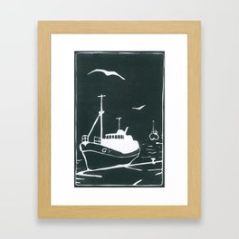 Comrades in Grey Framed Art Print