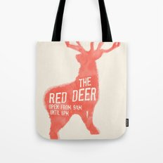 The Red Deer Tote Bag