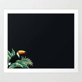 Tropical vibes Art Print