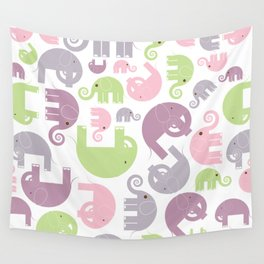 Elephant Stomp Wall Tapestry