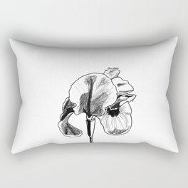 Desert Iris Rectangular Pillow