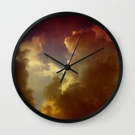 After the Storm Wall Clock