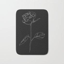 White Rose Bath Mat