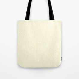 Spacey Melange - White and Blond Yellow Tote Bag