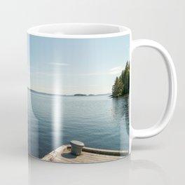 Sunny Day at the Dock | Koli, Finland Coffee Mug