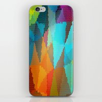 stained glass iPhone & iPod Skins featuring Stained Glass  by Latidra Washington