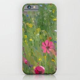 Modern Meadow  iPhone Case