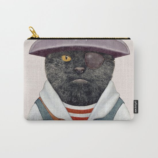 Pirate Cat Carry-All Pouch