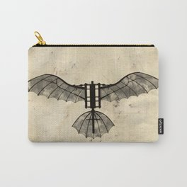 Da Vinci's Flying Machine Carry-All Pouch