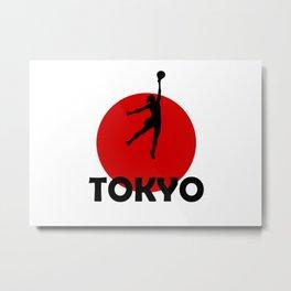Handball LOVE in Tokyo Metal Print