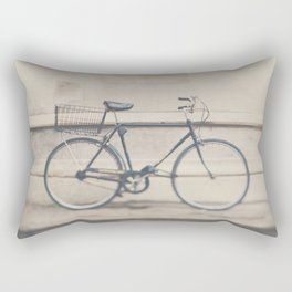 a very masculine bicycle Rectangular Pillow
