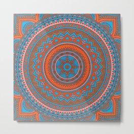 Hippie mandala 58 Metal Print