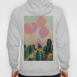 Balloons and cactus Hoody
