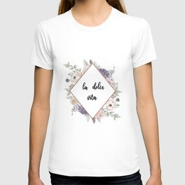 Lettering and Watercolor #4 T-shirt