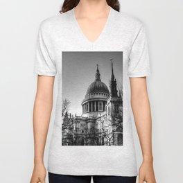 St Pauls, London Unisex V-Neck