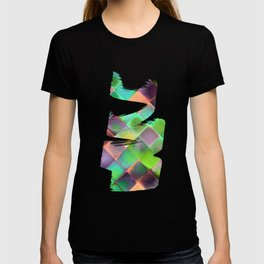 CHECKED DESIGN II-v12 T-shirt