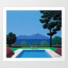 Hiroshi Nagai 15 Art Print