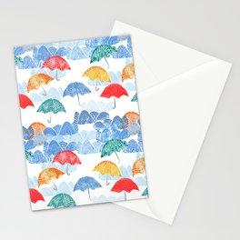 Umbrella Spring - by Kara Peters Stationery Cards