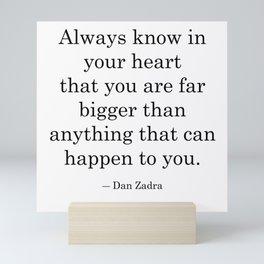 In your Heart Mini Art Print