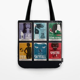 Bond #4 Tote Bag
