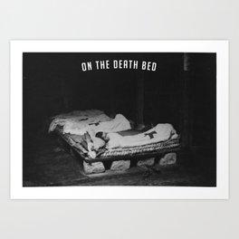 Death Bed Art Print
