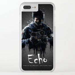 Echo Clear iPhone Case