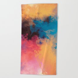 Golden Virus Beach Towel