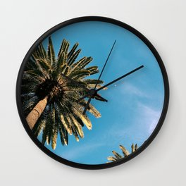 Palm Tree Portrait Wall Clock