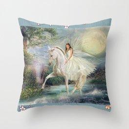 Unicorn Magic Throw Pillow