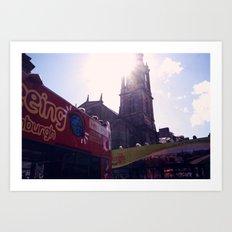Tourist (Edinburgh) Art Print