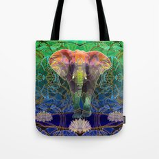 Wandering Elephant Tote Bag