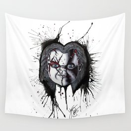The Horror of Chucky Wall Tapestry