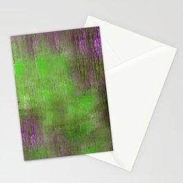 Green Color Fog Stationery Cards
