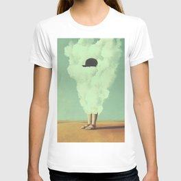Magritte's Bowler Hat T-shirt