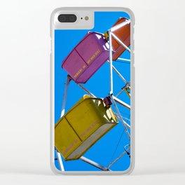 Ferris_Wheel - 3, Northern Michigan Clear iPhone Case