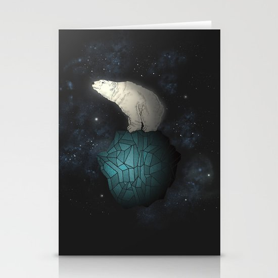 Bear Cosmos Stationery Cards