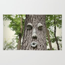 The Tree is Watching Rug