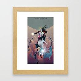 Nothing but Death Framed Art Print