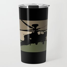 Apache Helicopter Travel Mug