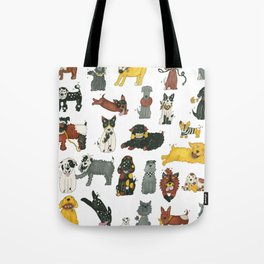 Resce Dogs Tote Bag
