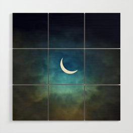 Solar Eclipse Wood Wall Art