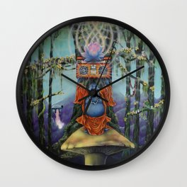 Forest Melody Wall Clock
